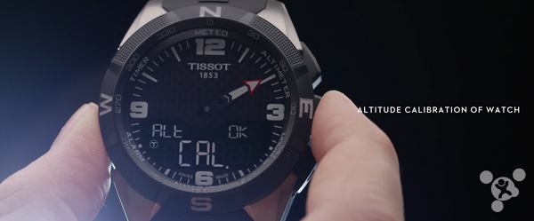 Tissot the first smart watch Smart Touch battery life up to 1 year
